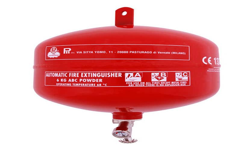 Automatic Fire Extinguisher - SEA MAX FIRE ENGINEERING WORKS